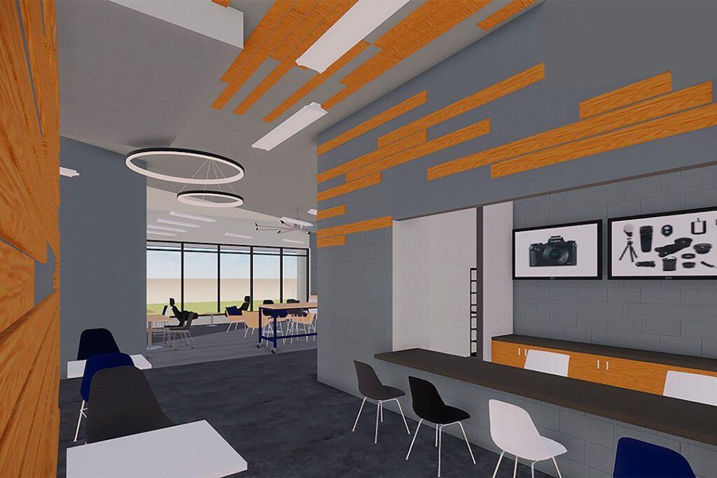 Renovation to RIT's College of Art and Design is coming into focus