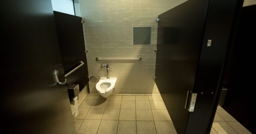 Every public restroom in downtown Denver