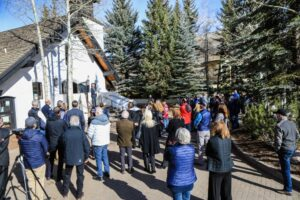 Vail chapel renovation work hits the end of its first phase