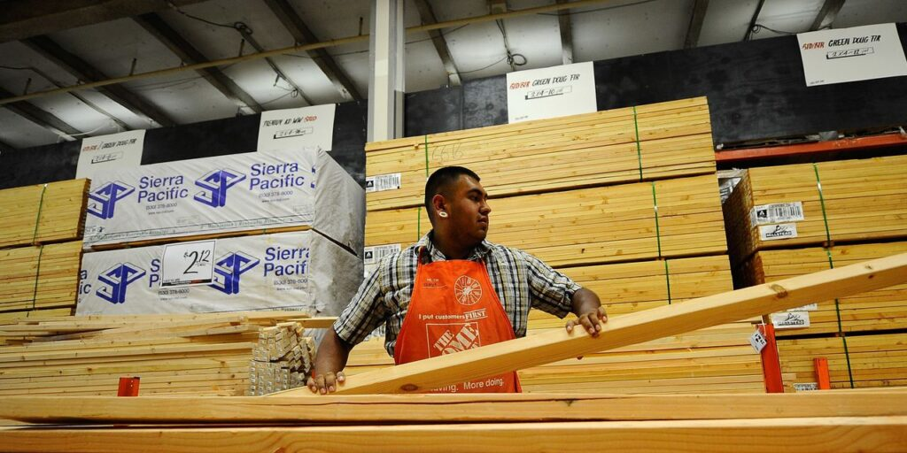 Home Depot and Lowe's have 30% share of a home improvement market that's heading toward $1 trillion