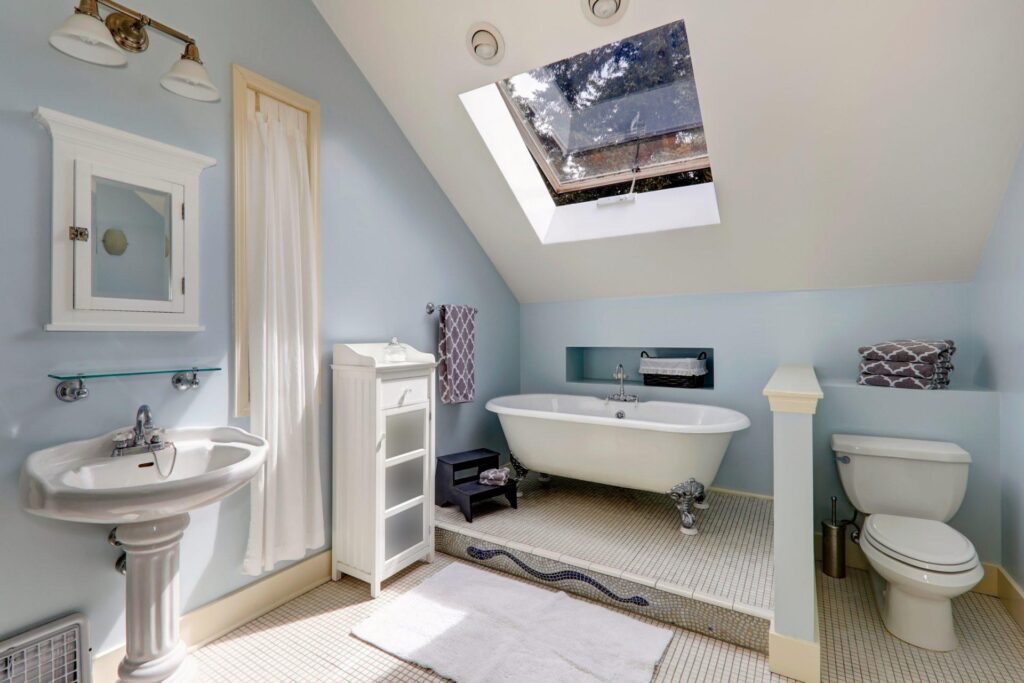 A Light Blue Bathroom Could Get You Almost $5000 More When You Sell Your House
