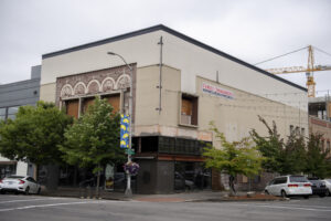 A local developer has bought the former Spanky's Legendary Consignment building in downtown Vancouver and plans to renovate it into a restaurant and office space. The structure has been vacant since 2008 and has become a prominent downtown eyesore.